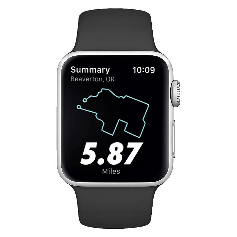 Mihutu Compatible con Apple Watch Correa 38mm 40mm 42mm 44mm, Nueva Correa de Pulsera para Pulsera de Repuesto Estilo Sport Clásico de Silicona Suave, ...