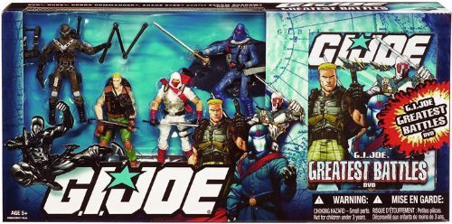 Shadow And Costumes Storm Eyes Snake (GI Joe 101 Intro Pack with DVD - Duke vs. Cobra)