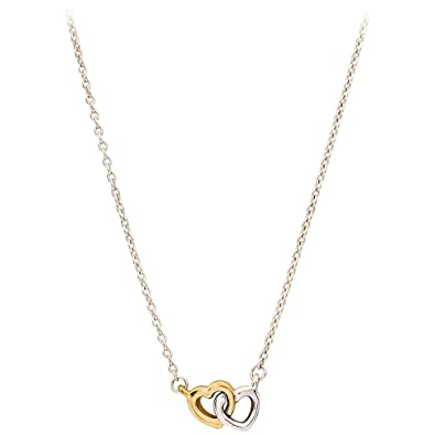 94ba5195e Amazon.com: PANDORA United in Love Necklace, Silver/Gold (59051745 ...
