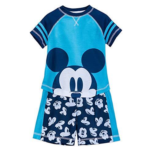 Disney Mickey Mouse Sleep Set for Boys Size 4 - Boys Pajamas Disney