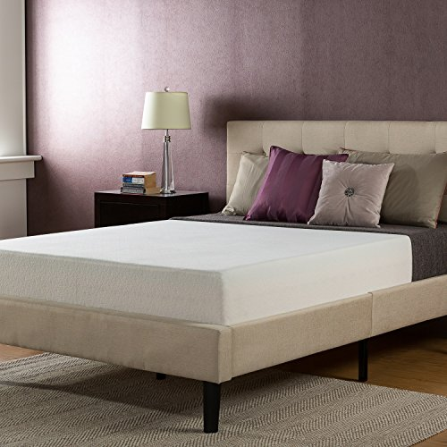 Memory Foam 10 Inch Mattress, Full (Green Home Decor Fabric)