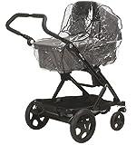 Playshoes 448946 Regenverdeck, Regenschutz, Regenhaube für Kinderwagen, Dreiradwagen mit Kontaktfenster