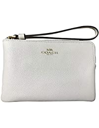 82a97ab0a808 Crossgrain Leather Corner Zip Wristlet