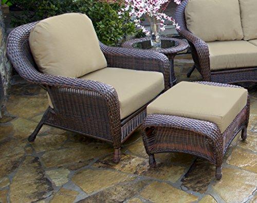 Tortuga US LEX-STCO1 RAVEB Sea Pines Java Club Chair