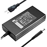 New 180W 19.5V 9.23A DA180PM111 ADP-180MB B AC Adapter Charger Compatible Dell Alienware 15 R1 R2 Dell Precision 7510 M4600 M4700 M4800 74X5J JVF3V Laptop Notebook Big Connector 7.4mm x 5.0mm