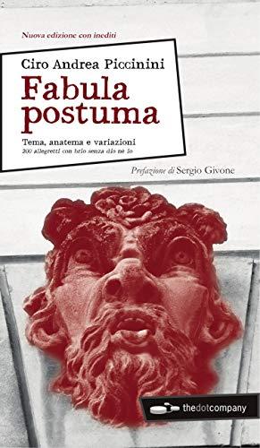 Amazon com: Fabula postuma: Duecentodieci variazioni per