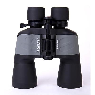TTYY Jumelles 10-30x50 Zoom HD Portable et étanche pour Safari en plein air Escalade Chasse Observation des oiseaux Sports Événements Astronomie