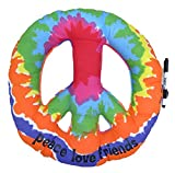 Tie-Dye Peace Pillow, Camp Autograph Pillow