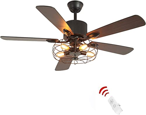 Retro Industrial Ceiling Fan