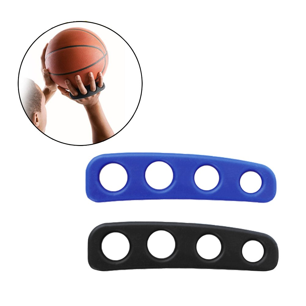 Firelong Basketball Shooting Trainer Aid 5.3 inch Basketball Training Equipment Aids for Youth and Adult - Pack of 2, Blue&Black