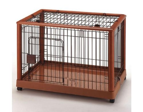 Mobile Pet Pen 940 - Medium Autumn Matte 36.8'' x 24.2'' x 26'' by Richell