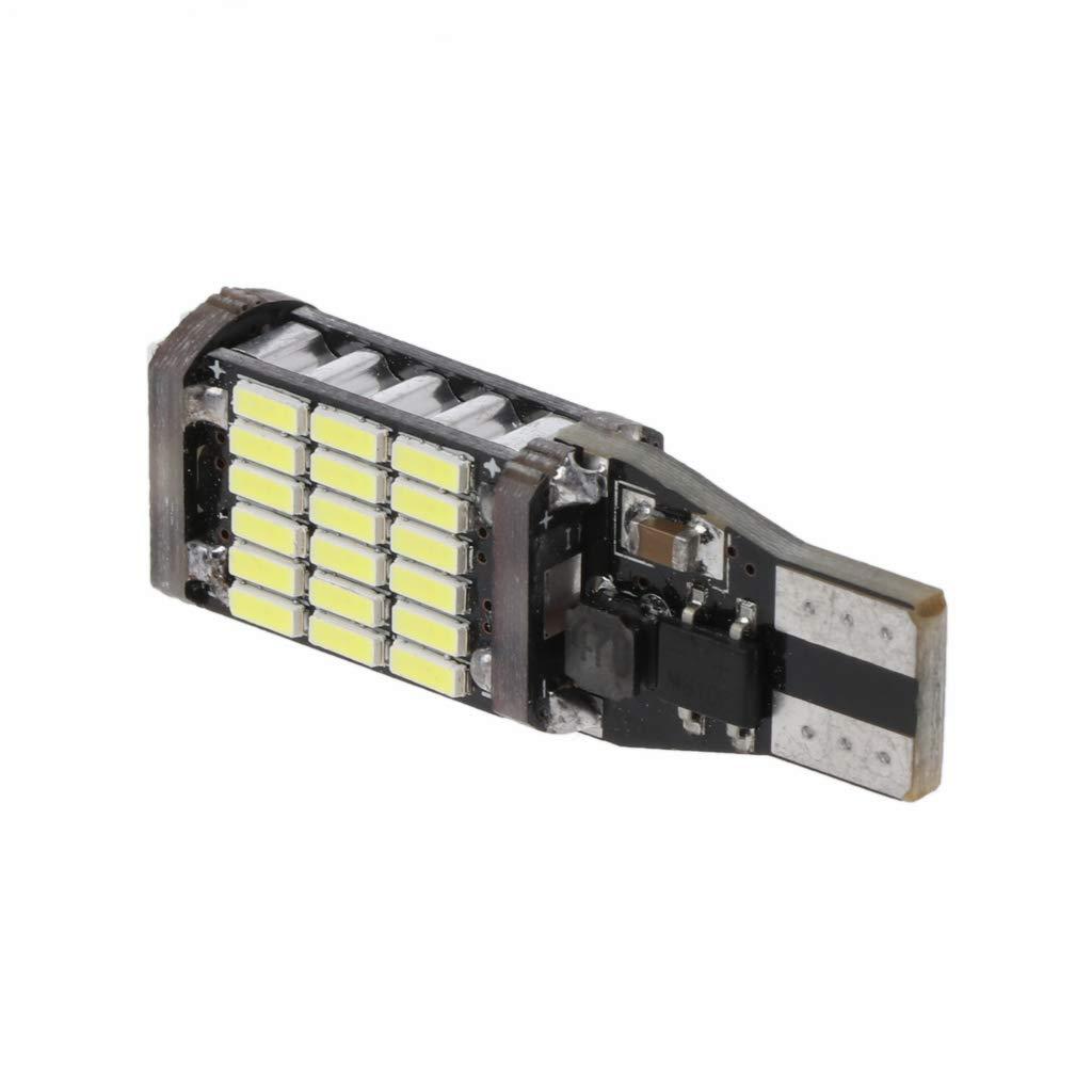 Yubusiness 12V Car 45-SMD 4014 LED Backup Reverse Light Super Bright Breite Lampe Wei/ß