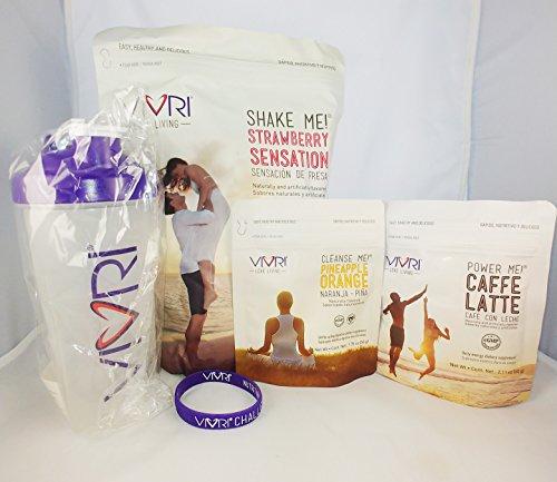 Vivri - Essential Nutrition System (ENS)- Strawberry Shake Me - Caffe Latte 10 Day by Vivri