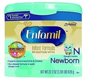 Enfamil  Newborn Baby Formula - 22.2 oz Powder in Reusable Tub