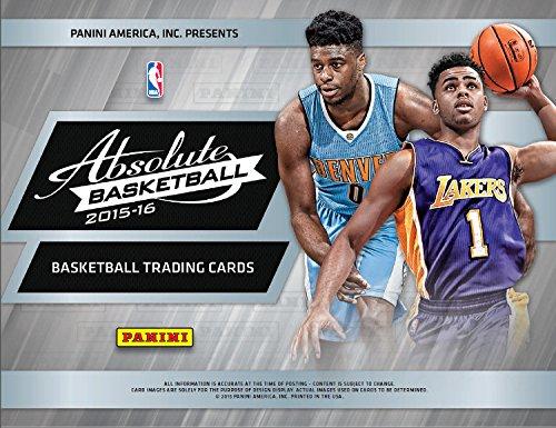 Panini 2015/16 Absolute Basketball Hobby Box NBA