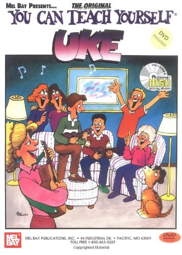 You Can Teach Yourself Uke. Partitions, CD pour Ukelele (Uke Cd)
