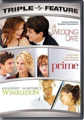 WEDDING DATE/PRIME/WIMBLEDON (DVD) (TRIPLE FEATURE/2DISCS) from UNI DIST CORP. (MCA)