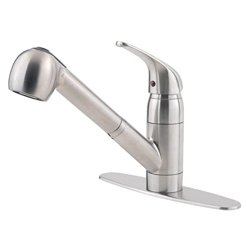 Pfister G13310SS Pfirst Series 1-Handle Pull-Out Kitchen Faucet In Stainless Steel