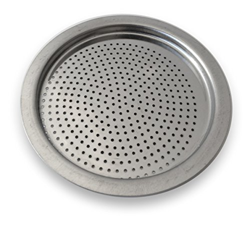 Cuisinox FIL-I6 Stainless Steel Filter for Cuisinox Espresso Coffeemakers, Silver