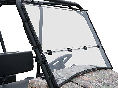 Kawasaki Mule 4010 & 4010 Trans Multi-Fold Scratch Resistant Windshield ()