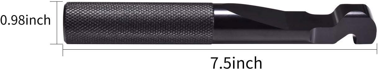 Hopider RZR Belt Changing Tool for Polaris RZR 900 S 1000 XP//XP4 Turbo RZR 800 570,Black