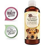 Colloidal Oatmeal Shampoo for Dogs with Sensitive Skin - Natural Dog...
