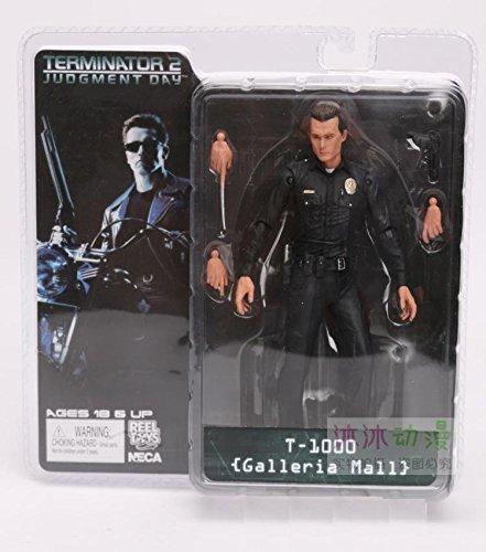 Pvc Figure Review (NECA The Terminator 2 Action Figure T-800 / T-1000 PVC Action Figure Toy Model Toy 7 Types 18cm (5))