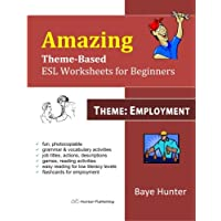 Amazing Theme-based ESL Worksheets for beginners -Theme: Employment