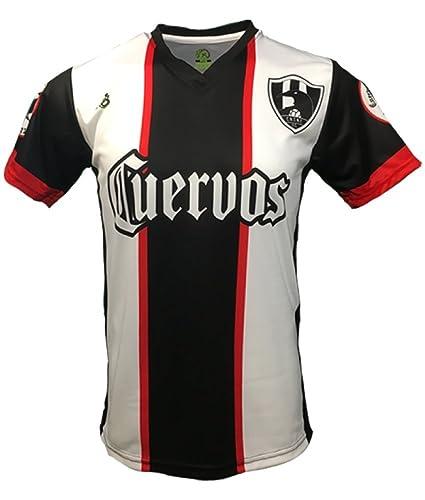 online store 4489e 7816f Amazon.com : Geko Sports Cuervos 3rd Jersey Home (Home/Casa ...