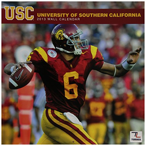 Perfect Timing - Turner 12 X 12 Inches 2013 USC Trojans Wall Calendar (8011207) by Perfect Timing - Turner
