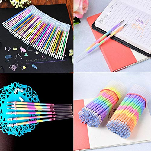 Dongtu Child Student Writing Painting Stationery Colorful Fluorescence Gel Pen Core Highlighters (36 Pcs) Photo #4