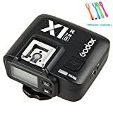 Godox X1R-S 2.4G TTL High Speed Sync Wireless flash Receiver for Sony Camera + CONXTRUE USB LED (X1R-S Receiver)