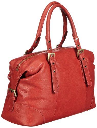 Marc O´Polo Accessories Talisha Bowling 11600 39000 308, Damen Bowlingtaschen 35x21x15 cm (B x H x T) Rot (Terracotta)
