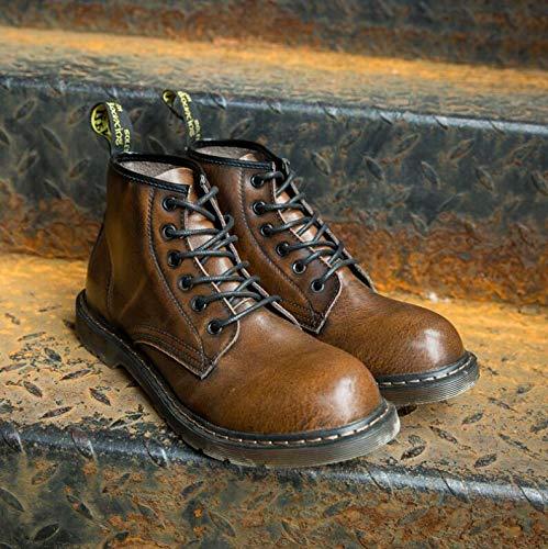 Uomo Nero Style Nero EU 40 Punk Brown Stivali qCOwF1