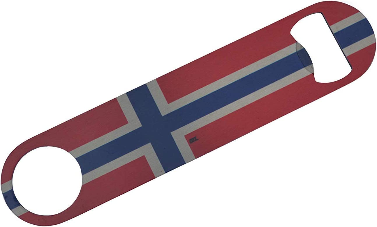Norway Flag Speed Bottle Opener Heavy Duty Gift Norwegian [並行輸入品]