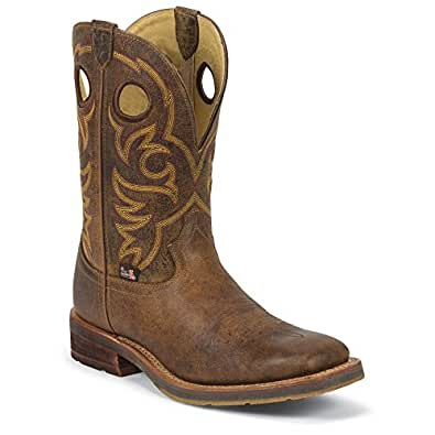 Justin Men's 1825 Rugged Tan Boot 11.5 EE - Wide