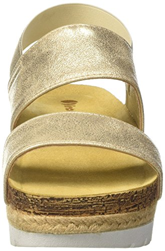 Inblu Niki, Scarpe con Piattaforma Donna, Oro (Platino), 39 EU