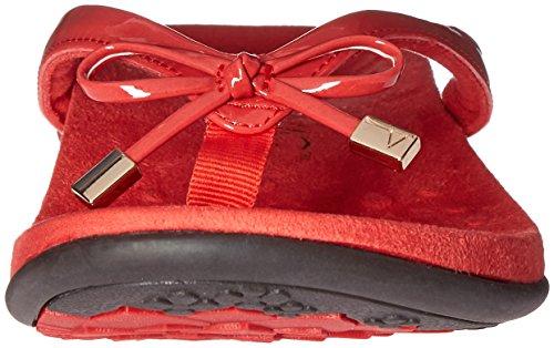 Vionic Womens Bella Ii Toepost Sandal Red