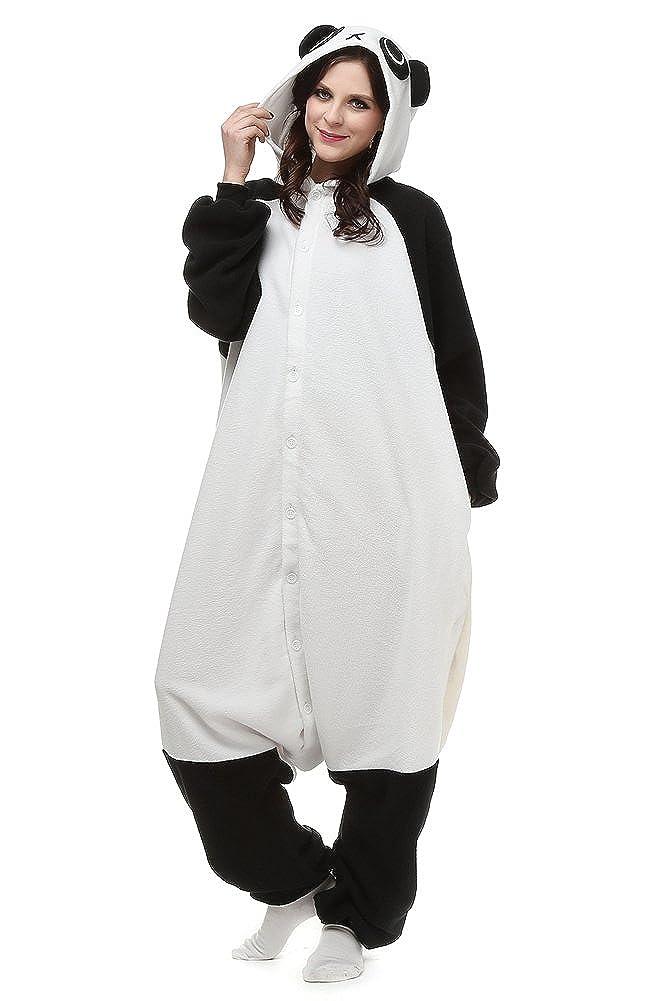 f9a66b889207 Amazon.com  OLadydress Unisex Panda One-Piece Pyjamas