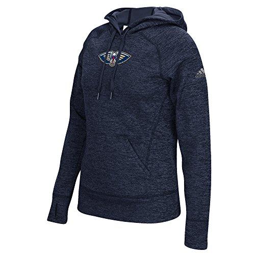 (NBA New Orleans Pelicans Women's Team Logo Fleece Pullover Hoodie, Medium,)