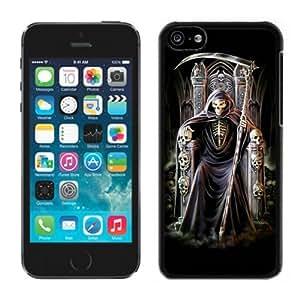 MMZ DIY PHONE CASEgrim reaper Black Hard Plastic iphone 4/4s Phone Cover Case