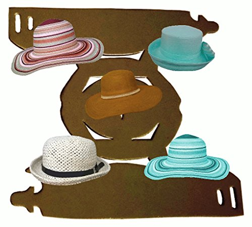 Acc Hat - 1 Pk. Brown-Deluxe Floppy and Bucket Hat Shaper | Hat Liner| Fashion Hat Storage Travel Acc.| Hat Cleaning, Storage Aide| Hat Dome Panel Support | Hat Blocking Aide| Men's and Lady's Hats| 100% MBG.