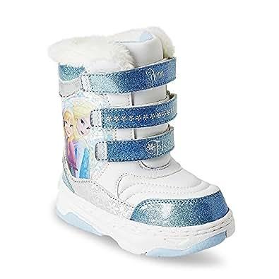 Amazon.com | Disney Frozen Winter Fur Boots (2) | Boots