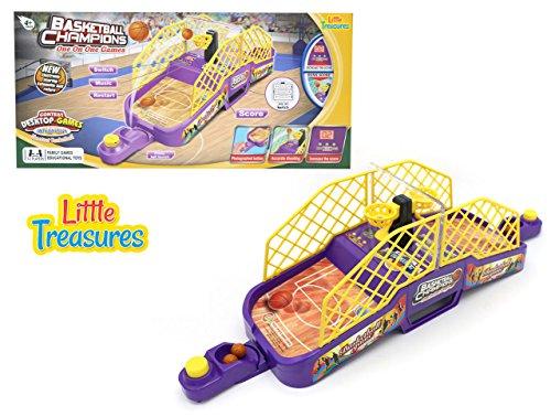 Little Treasures Mini-Shooter Basketball Head-To-Head