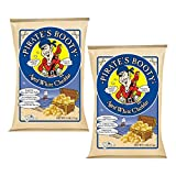 Pirate's Booty, Aged White Cheddar, 4-Ounce Bags (Pack of 2)