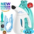 2018 New Generation Steamer For Clothes - Garment Handheld Portable Clothes Steamer, Fabrics, Travel– Powerful Professional Compact Light Iron, 8-1 Wrinkle Remover Clothes Fabric Steamer, 800W 6oz