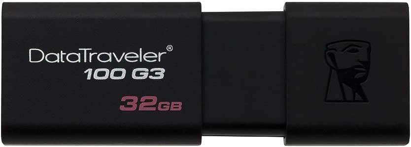 Kingston 32GB 100 G3 USB 3.0 DataTraveler (DT100G3/32GB)