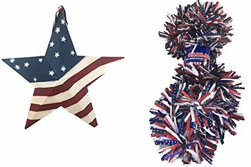 Patriotic Bundle of 2: Front Door Decor USA