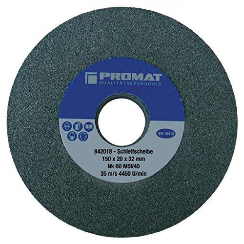 PROMAT 842002 Grinding Wheel k.36 150X25X32 Mm NK Coarse Promat Kayser S-ASP60006