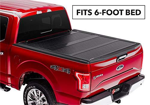 Toyota Tacoma Fiberglass - BAKFlip FiberMax Hard Folding Truck Bed Tonneau Cover | 1126427 | fits 2016-19 Toyota Tacoma 6' bed
